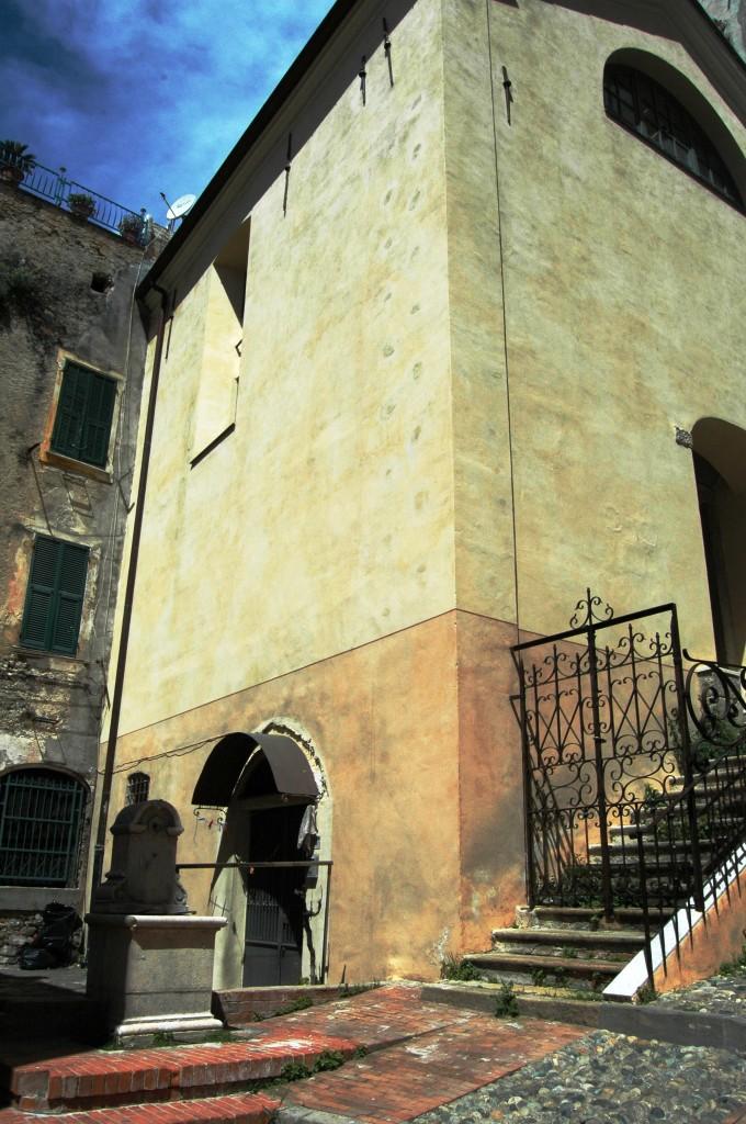 """Sanremo (IM), centro storico detto della """"Pigna"""", uno scorcio"""